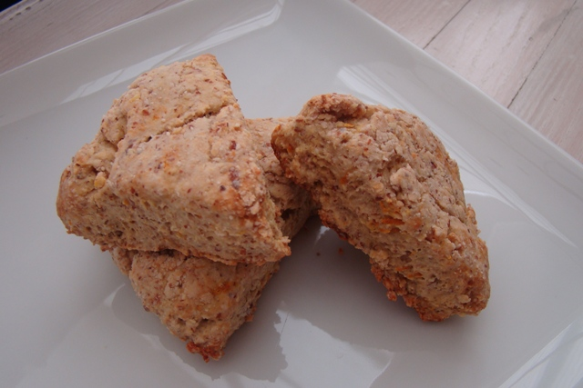 Lemon Ginger Scones With Brown Rice Flour And Agave Nectar ...