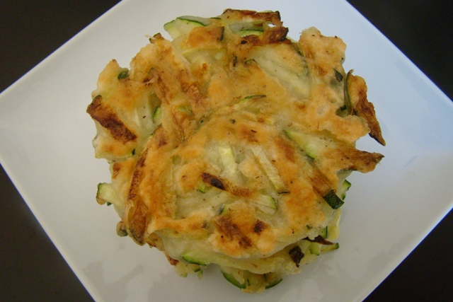 Zucchini Latkes | Rice Kernel