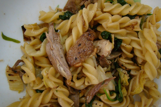 Pasta with Slow-Roasted Duck | Rice Kernel